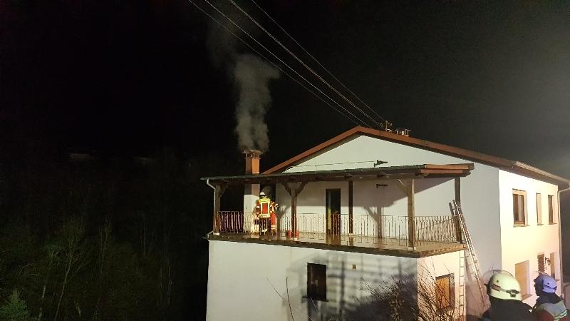 Brandeinsatz Schmelz